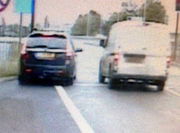 PURSUIT: The high-speed chase through Bolton and Salford lasted just seven minut