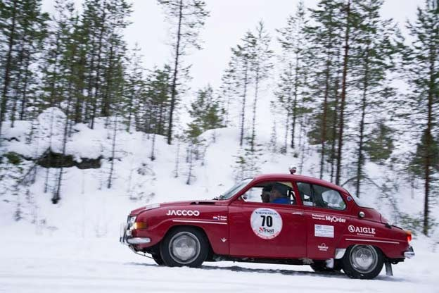 Saab 96 V4 Rally Car