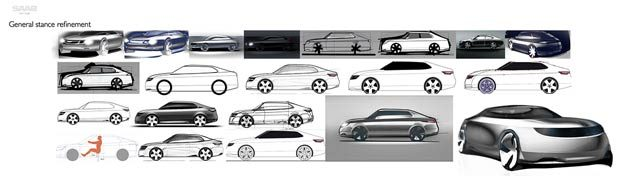 Saab Redesign Process
