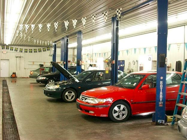 Andrews Saab repair service