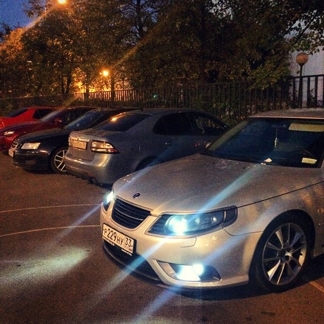 Moscow Saab Club Gatherings