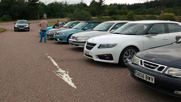 Saab Scottish Event