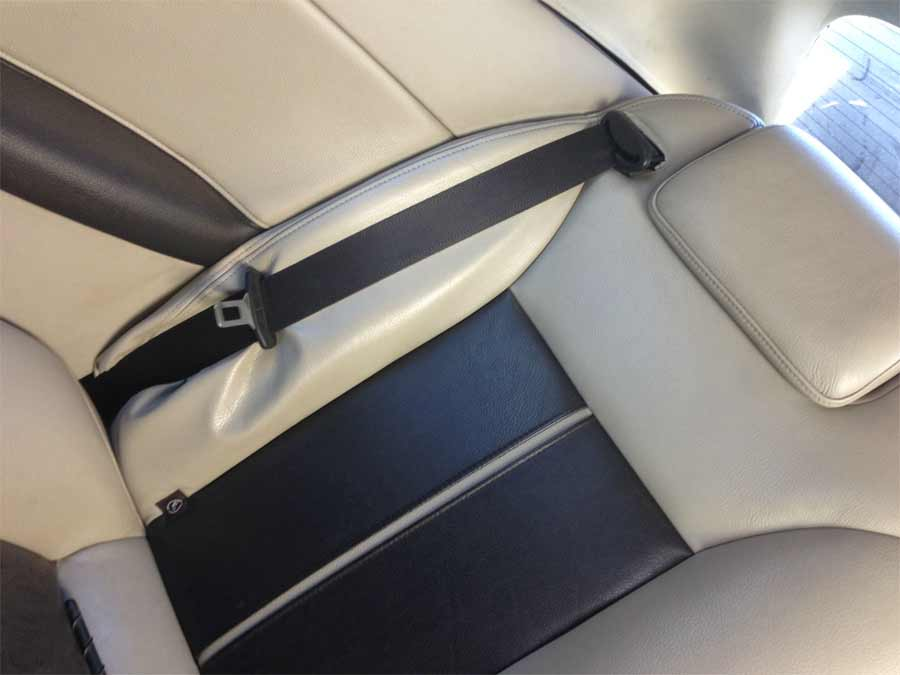Just an example of some of the recent seat belts fitted on Saabs