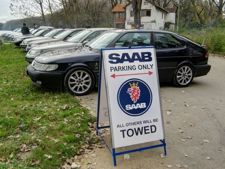 4. Saab Club Serbia Meeting
