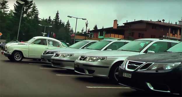 Saab Meeting Slovakia 2015