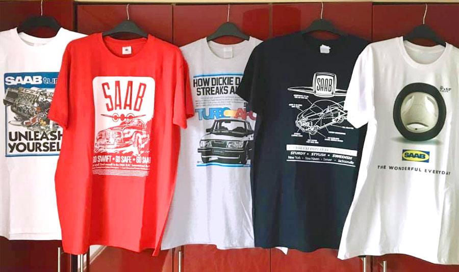 Saab Cars T-shirts