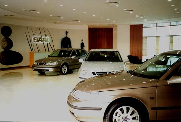 Saab Showroom Dubai