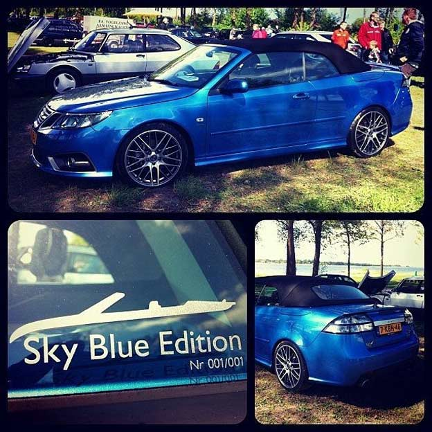 Saab 9-3 Sky Blue Edition
