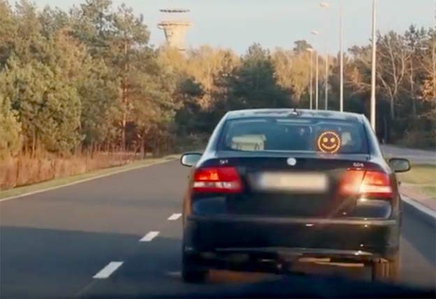 Saab smiley