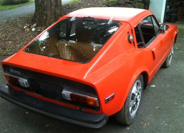 Saab Sonett Project Car