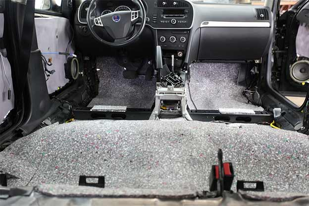 Car sound deadening