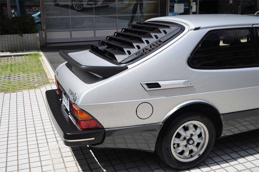 Saab back spoiler