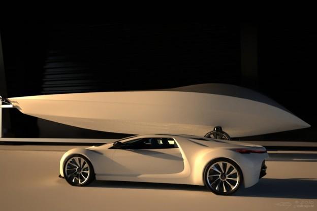 Saab Spyker Supercar