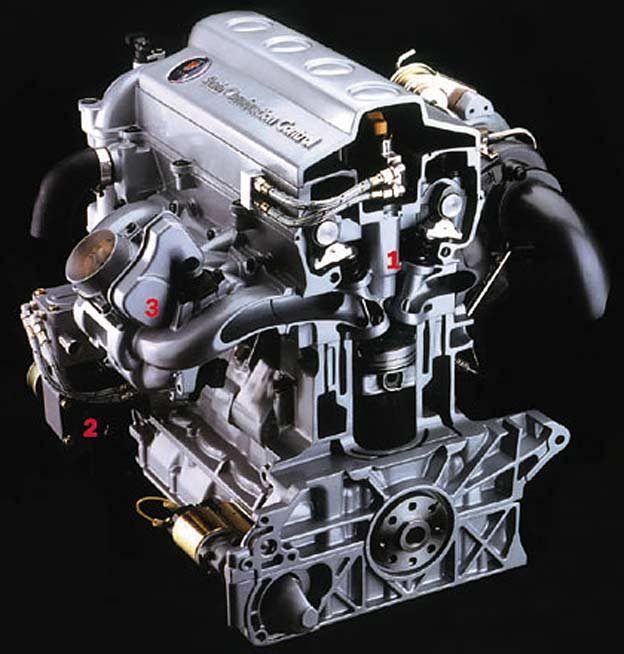 Saab Variable Compression Engine Generates 225bhp Out Of 1 6l