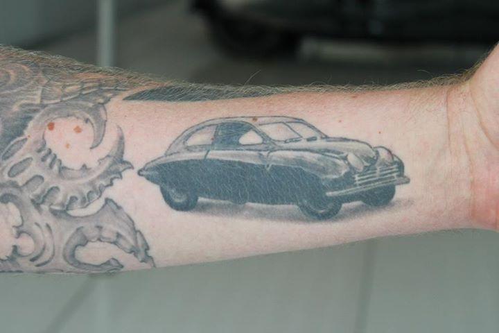 Saab tattoos!