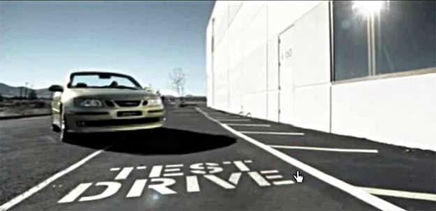 Saab Test Drive