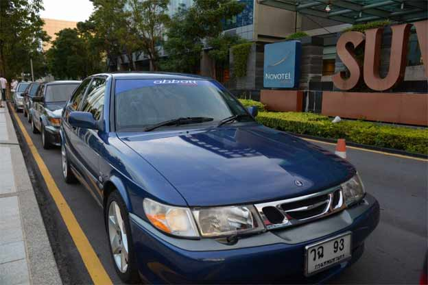 Saab 900 SE from Thailand