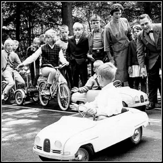 Saab Trampbil - Saab Kids Pedal Car