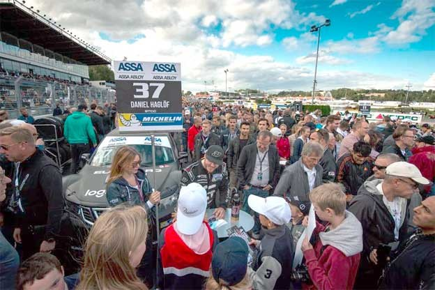 Saab Triumph at Solvalla