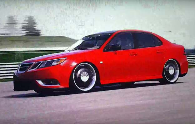 Saab 9-3 Turbo X in Forza Motorsport 4