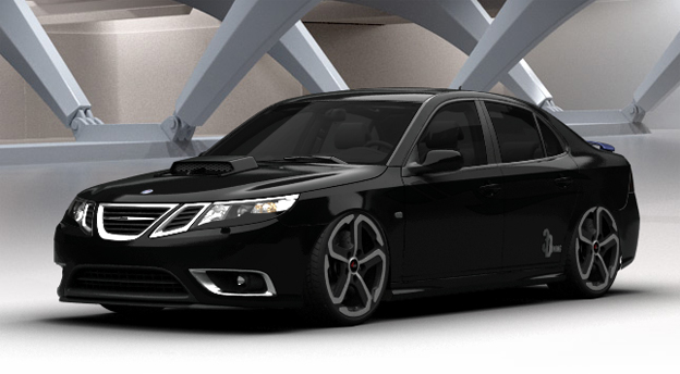 Tune your Saab in 3D Virtual Car Tuning
