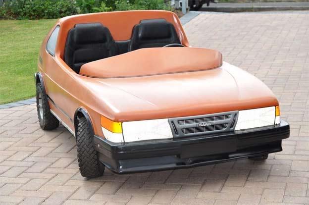 Saab Turbo 006 go-kart