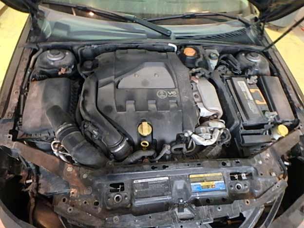 Saab 9-3 Turbo X Engine
