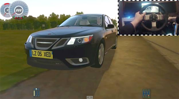 Drive Saab 9 3 Turbo X In This Cool Driving Game Saab Planet