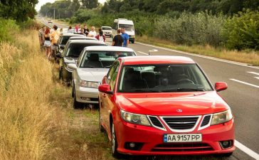 Video report from the gathering of Saab enthusiasts of Ukraine