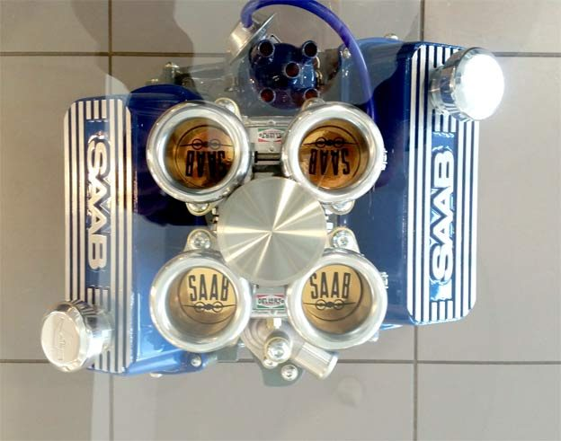 Saab V4-Engine Table Set