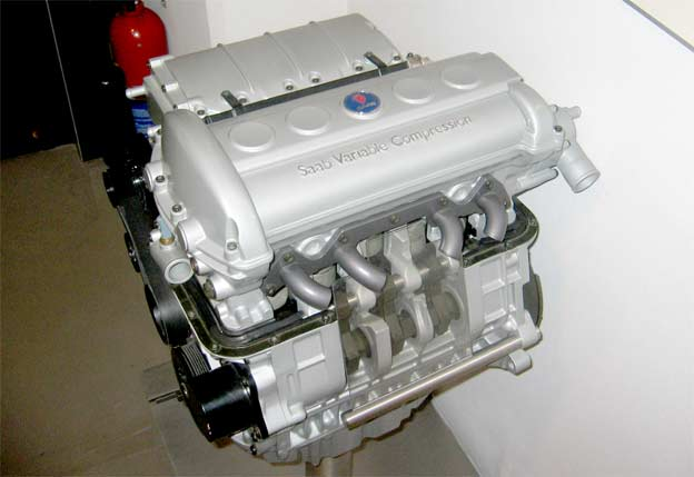 Saab Variable Compression Engine generates 225bhp out of 1.6L
