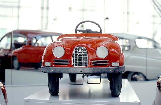 Saab Vintage pedal car