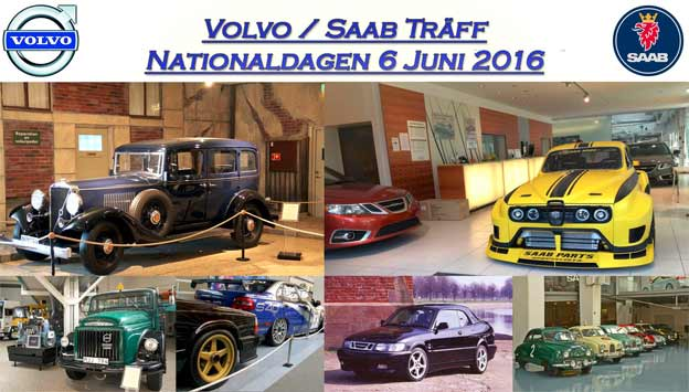 Saab-Volvo Meeting