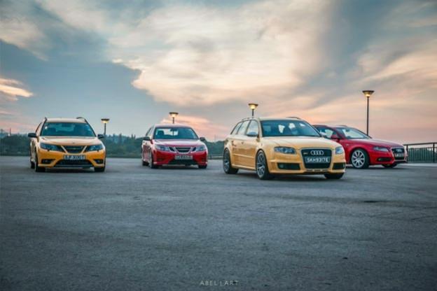Saab vs Audi