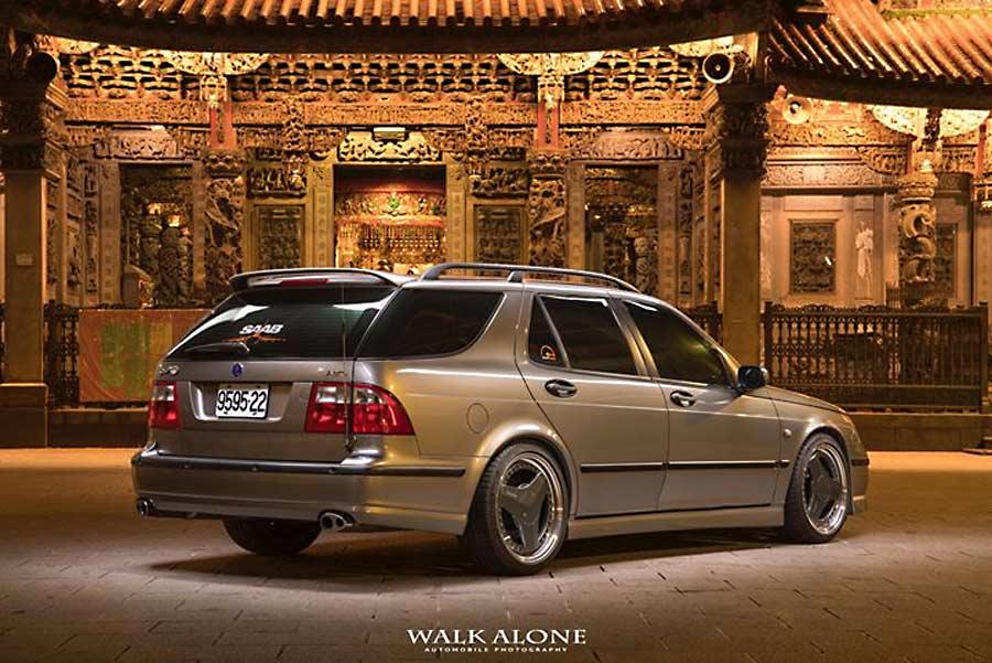 Saab Wagon Hirsch