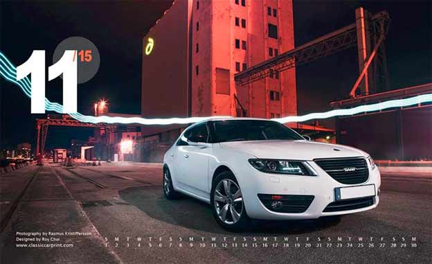Saab Monthly Wallpapers - NOVEMBER 2015