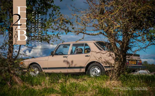 Saab 900 GLS - Saab Wallpaper february 2016