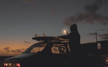 Saab & Waves - Photo by Aaron Brimhall