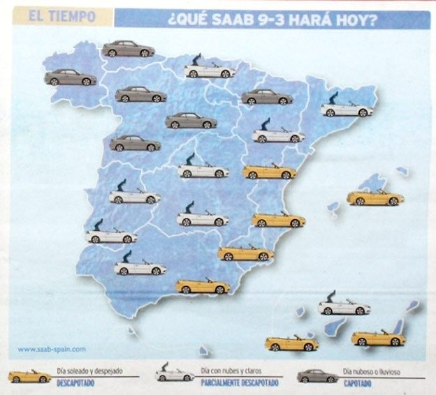 Saab Weather Map