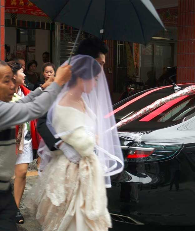 Saab Wedding