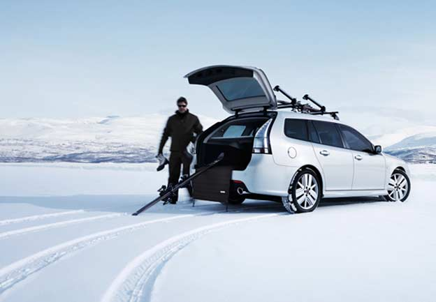 Saab, Winter and Vivaldi...Perfect