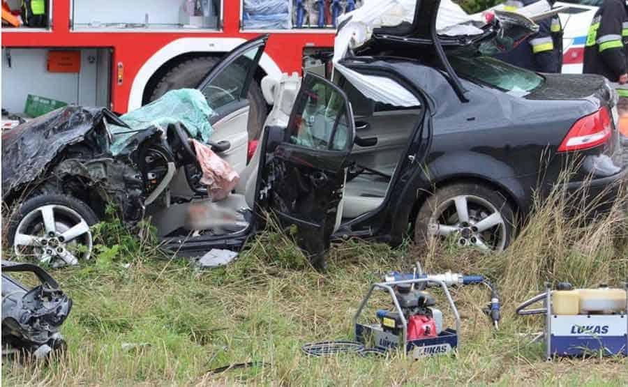 Saab after incident