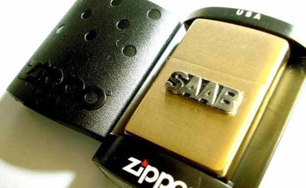 Saab Zippo Lighter