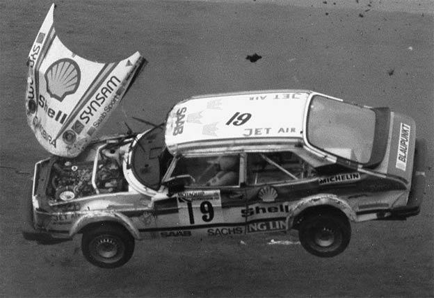 Saab rallycross crash - Anders Nordstedt