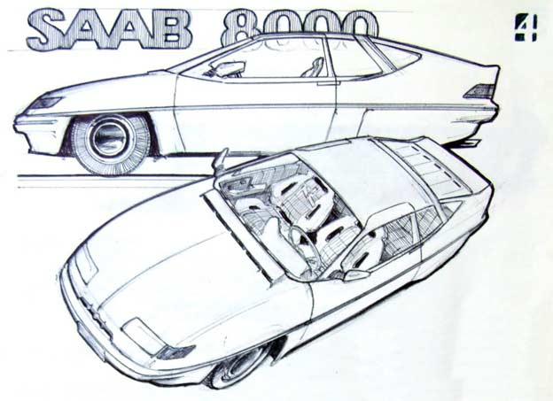 Saab 8000 Concept