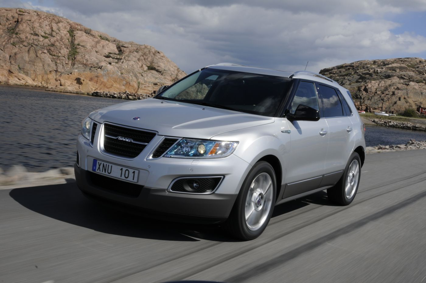 Saab 9-4X - world premiere