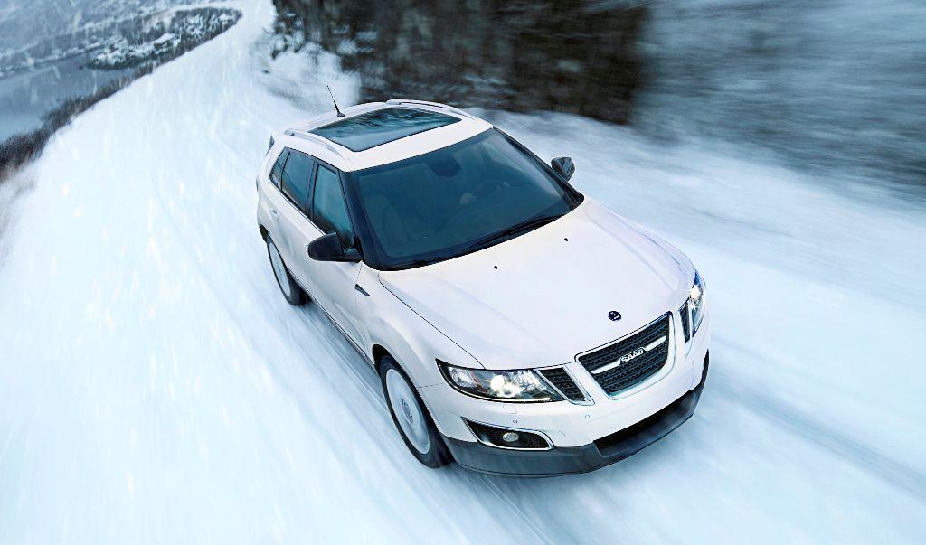 Saab 9-4x Winter