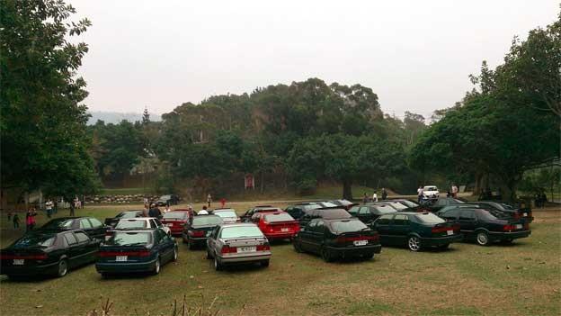 Saab 9000 gathering