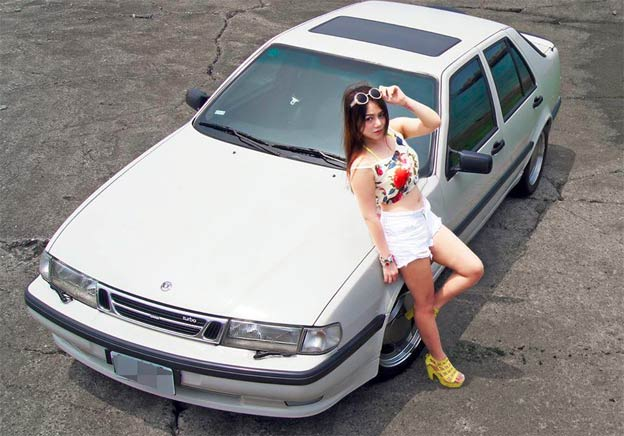 Saab 9000 on Summer Vacation