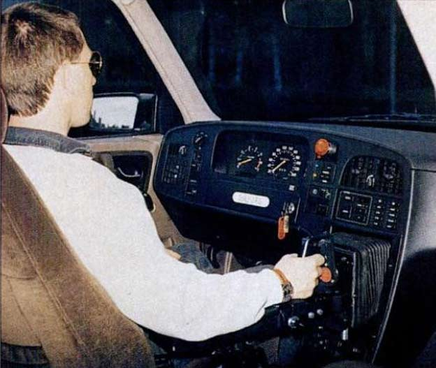 Saab 9000 drive-by-wire (1992)